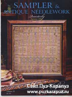 Samplers&Antique Needlework - Summer 2004