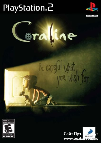 Coraline (2009/ENG/PS2)