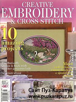 Creative Embroidery & Cross Stitch No.3 2009