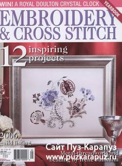 Embroidery & Cross Stitch №10, 2006