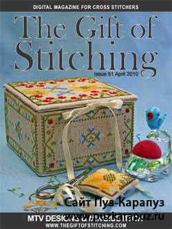 The Gift of stitching Issue 51 2010