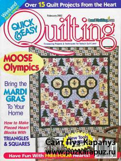 Quick & Easy Quilting 1 2002