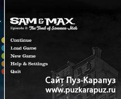 Sam and Max Episode 2 - The Tomb of Sammun Mak 2010 (Eng/Repack)