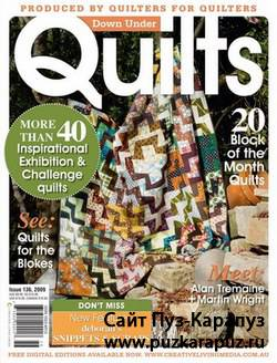 Down Under Quilts №136 September 2009