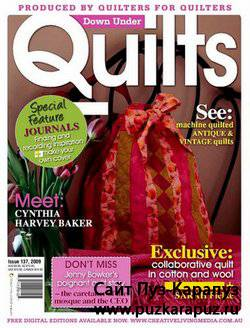 Down Under Quilts №137 October 2009