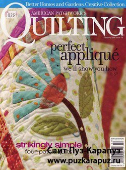 American Patchwork & Quilting №78 - February 2006