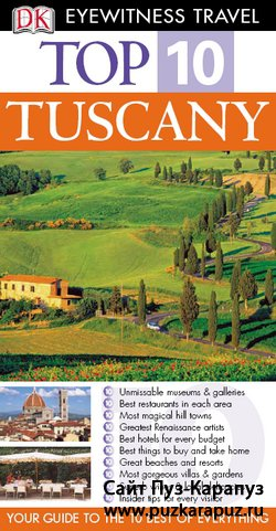 Eyewitness Travel Top 10. Tuscany
