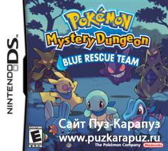 Pokemon Mystery Dungeon: Blue Rescue Team (DS) (EUR)