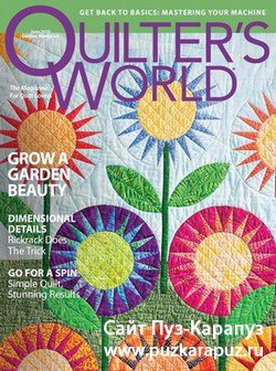 Quilter's World - June 2010