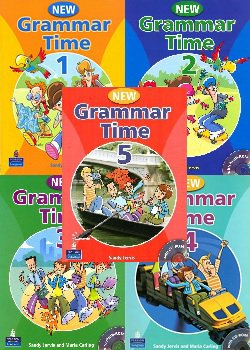 New Grammar Time 1-5 (2008-2009) PDF, MP3, ISO