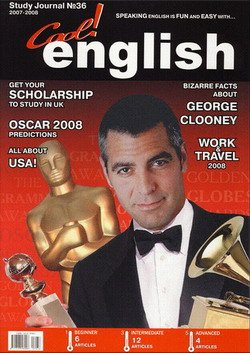 Cool English Magazine №36 2007-08 Awards Special