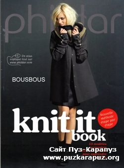 Phildar Knit it book 13modeles