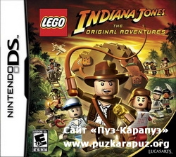 Lego Indiana Jones  2008 (DS)
