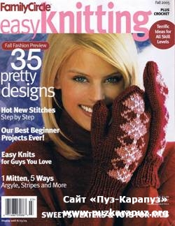 Family Circle Easy Knitting - Plus Crochet - 2005 Fall