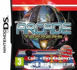 Retro Arcade Toppers 2010 (DS)