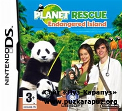 Planet Rescue Endangered Island 2008 (DS)
