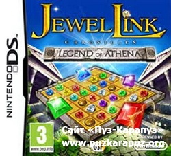 Jewel Link Chronicles: Legend of Athena 2011 (DS)