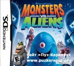 Monsters vs. Aliens 2009 (DS)
