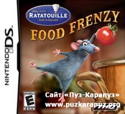 Ratatouille: Food Frenzy 2008 (DS)
