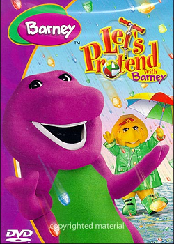 Барни - Давайте представим себе / Barney - Let's Pretend With Barney (2004) DVDRip