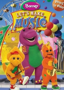 Барни - Давайте Музыку / Barney - Let's Make Music (2006) DVD5+DVDRip
