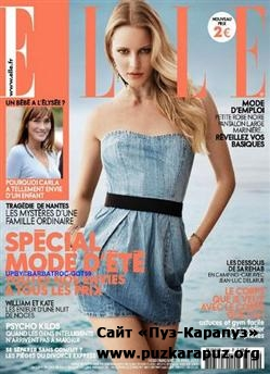 Elle - 29 Avril 2011 (No.3409, France)