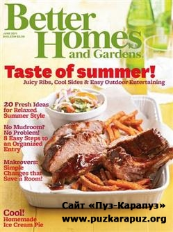 Better Homes and Gardens - June 2011 (US)