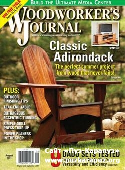 Woodworker's Journal - August 2011