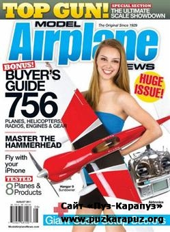 Model Airplane News - August 2011