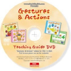 "Genki English - Lesson Plans Book, CD's Vol. 1-10, ""Gestures & Actions"" Teaching Guide DVD (2011) SWF, PDF, DVD+DVDRip"