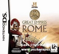 The History Channel Great Empires Rome 2009 (DS)