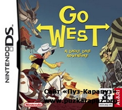 Go West - A Lucky Luke Adventure 2007 (DS)