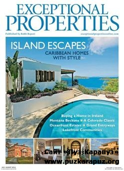 Exceptional Properties - July/August 2011 (Robb Report)