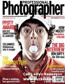 Professional Photographer - September 2011 (UK)