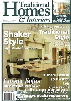 Traditional Homes & Interiors - July 2011