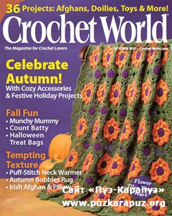 Crochet World - October 2011
