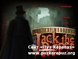 Mystery Murders: Jack the Ripper (2011/ENG/Final)