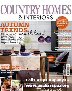 Country Homes & Interiors - October 2011