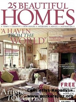 25 Beautiful Homes - October 2011