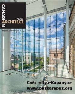 Canadian Architect - September 2011