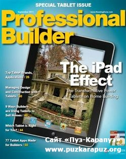 Professional Builder - September 2011