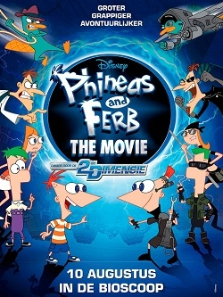 ����� � ����: ����� ������ ��������� / Phineas and Ferb Across The Second Dimension (2011) DVD5+DVDRip