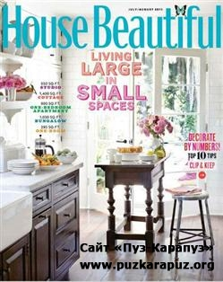 House Beautiful - July/August 2011 (US)