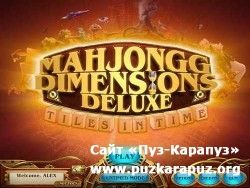 Mahjongg Dimensions Deluxe: Tiles in Time (2011/Eng/Final)