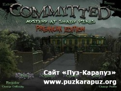 Committed Mystery at Shady Pines - Premium Edition (2011/Eng/Final)