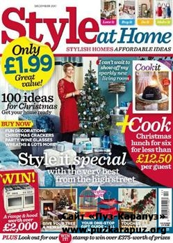 Style at Home - December 2011 (UK)