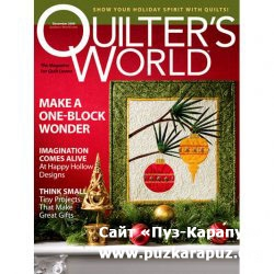 Quilter's World - December 2009