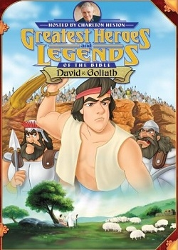 ������� ���������� ����� � �������: ����� � ������ / Greatest Heroes and Legends of the Bible: David and Goliath (1998) DVDRip