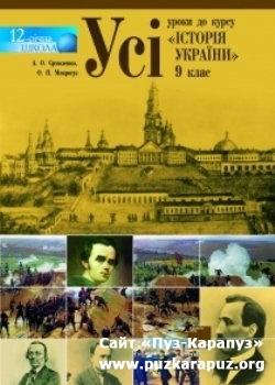 До курсу історія україни 9 клас