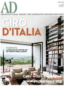 Architectural Digest - April 2012 (Deutsch)